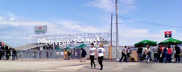 Στιγμιότυπα από την 1η μέρα του Primavera Sound Festival