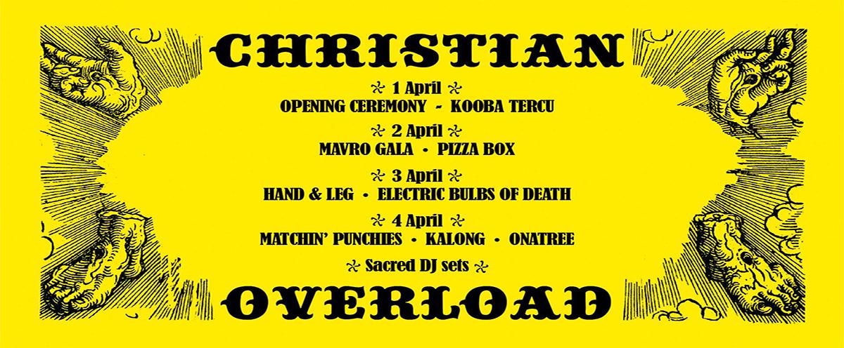 Christian Overload Festival @ Boiler, Athens