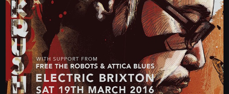 DJ Krush / Attica Blues / Free the Robots - Live @ Brixton Electric, London