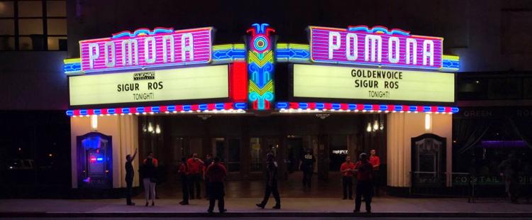 Sigur Rós - Live @ Fox Theater, Pomona, CA