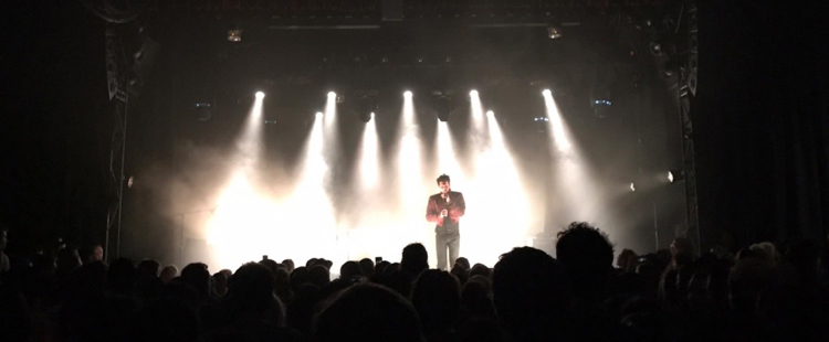 Francis And The Lights - Live @ El Rey Theater, Los Angeles, CA