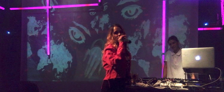 Tommy Genesis - Live @ six d.o.g.s., Athens