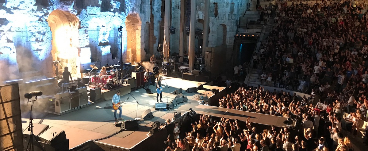 Foo Fighters - Live @ Odeon of Herodes Atticus, Athens