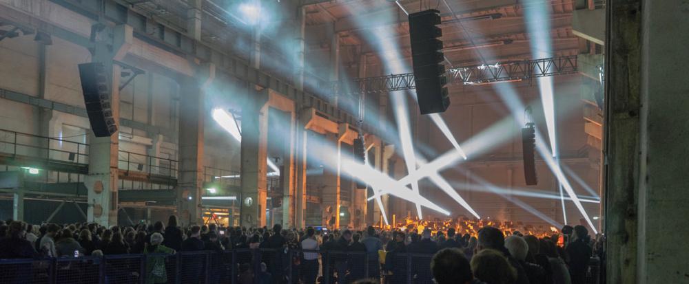 >Parallax< by DSO Berlin & Berlin Atonal @ Kraftwerk, Berlin