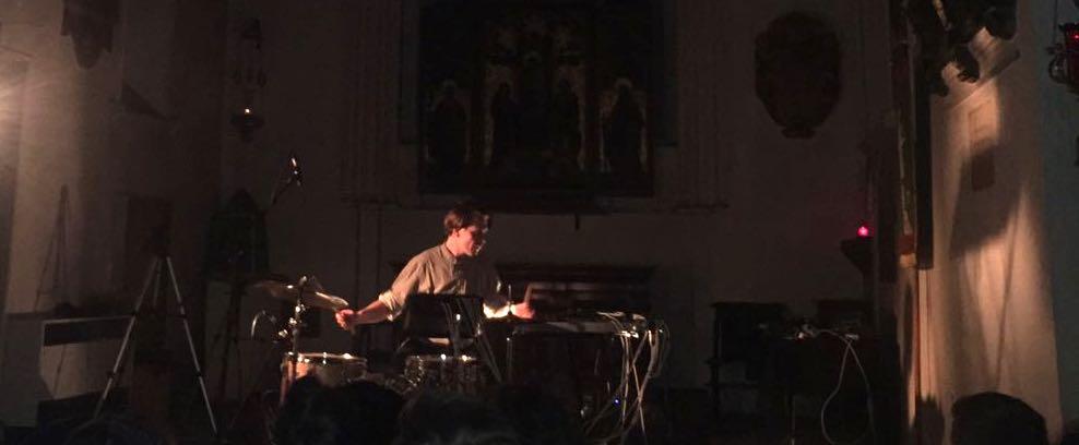 Andrea Belfi - Live @ St. Pancras Old Church, London