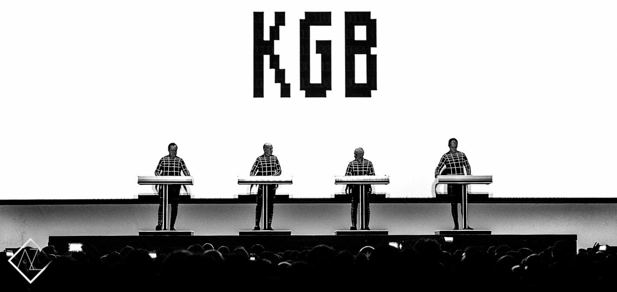 Kraftwerk - Live @ Faliro Sports Arena, Athens