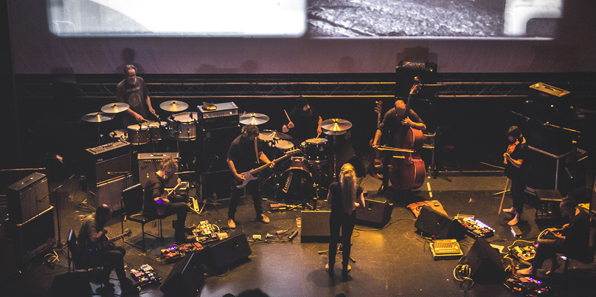Godspeed You! Black Emperor - Live @ Gazi Music Hall, Athens