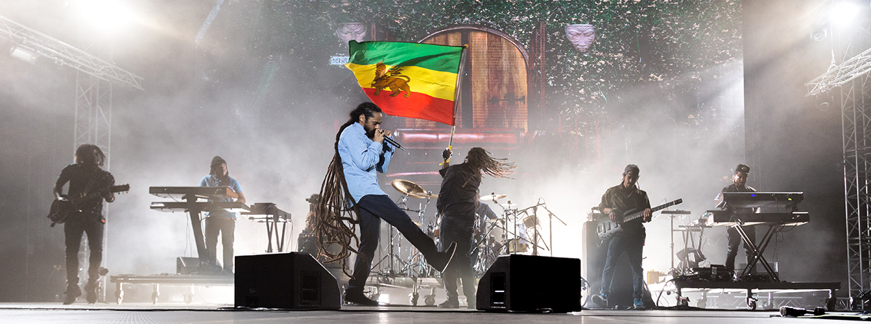 Release Athens 2019 - Damian Marley, Third World, Hollie Cook (Day 1)