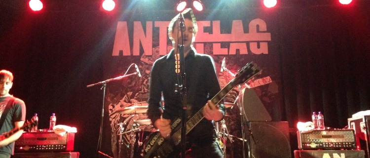 Anti Flag @ Melkweg, Amsterdam