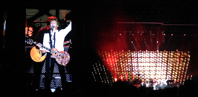 Paul McCartney @ Dodger Stadium, Los Angeles