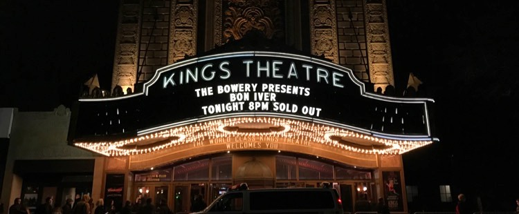 Bon Iver - Live @ Kings Theatre, Brooklyn, NY