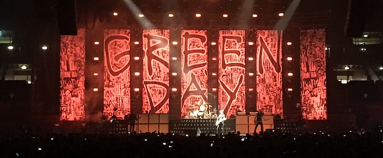 Green Day - Live @ Mediolanum Forum, Milano