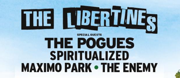 Οι Libertines επιστρέφουν για μια εμφάνιση στο Hyde Park του Λονδίνου