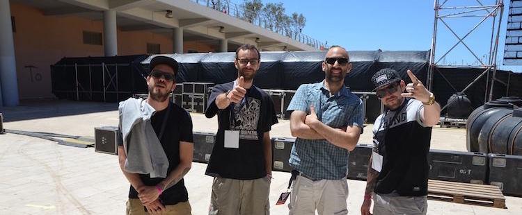 Η συνάντησή μας με τους Chinese Man στο Release Athens Festival