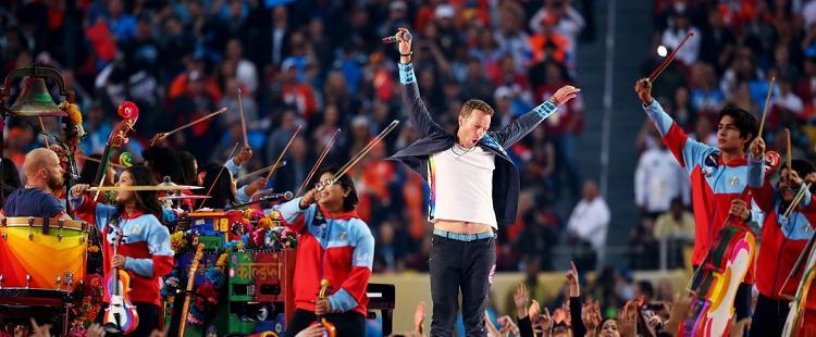Δείτε την εμφάνιση των Coldplay στο SuperBowl