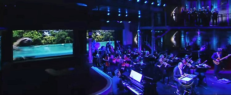 Hans Zimmer - Planet Earth II (live) @ The Late Show with Stephen Colbert