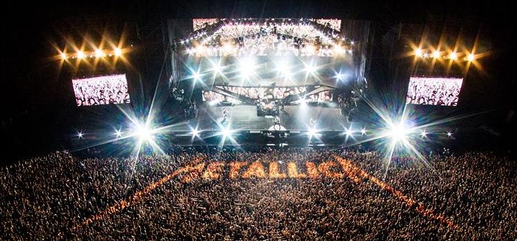 Δείτε την εμφάνιση των Metallica στο Glastonbury festival
