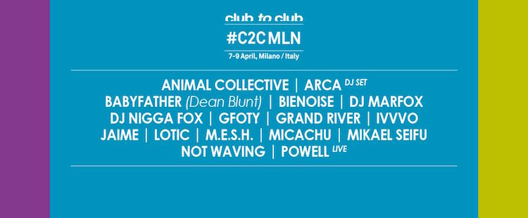 Club To Club Festival, Milan, Italy