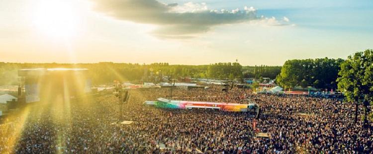 Rock Werchter Festival, Belgium