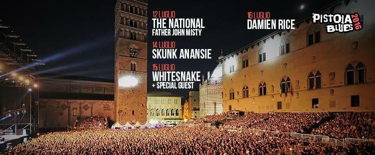 Pistoia Blues Festival, Italy