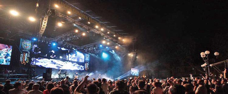 Lucca Summer Festival, Italy