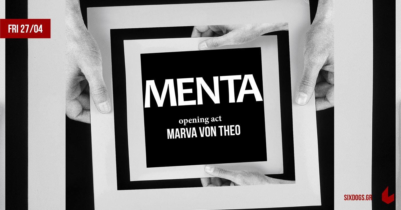 Οι Menta με τους Marva Von Theo την Παρασκευή 27.04 στο Six D.o.g.s.